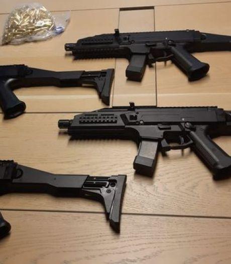 Verdachten achter 'groothandel' in verboden vuurwapens komen nog niet buiten