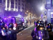 Opnieuw gewonden bij zware rellen in centrum van Barcelona