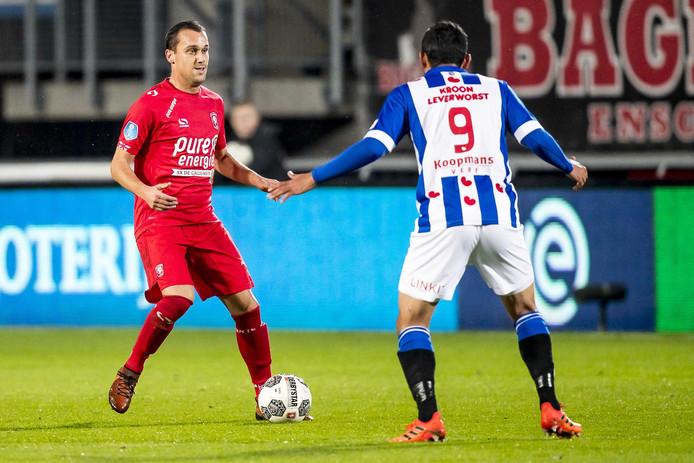 Michael Liendl in de thuiswedstrijd tegen Heerenveen.