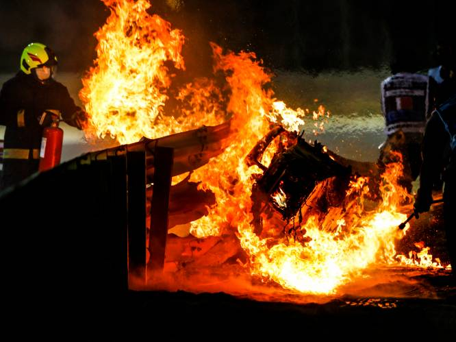 """Leinders over crash Grosjean: """"Vonken die ontstaan door botsing met vangrail hebben wellicht voor vlammen gezorgd"""""""