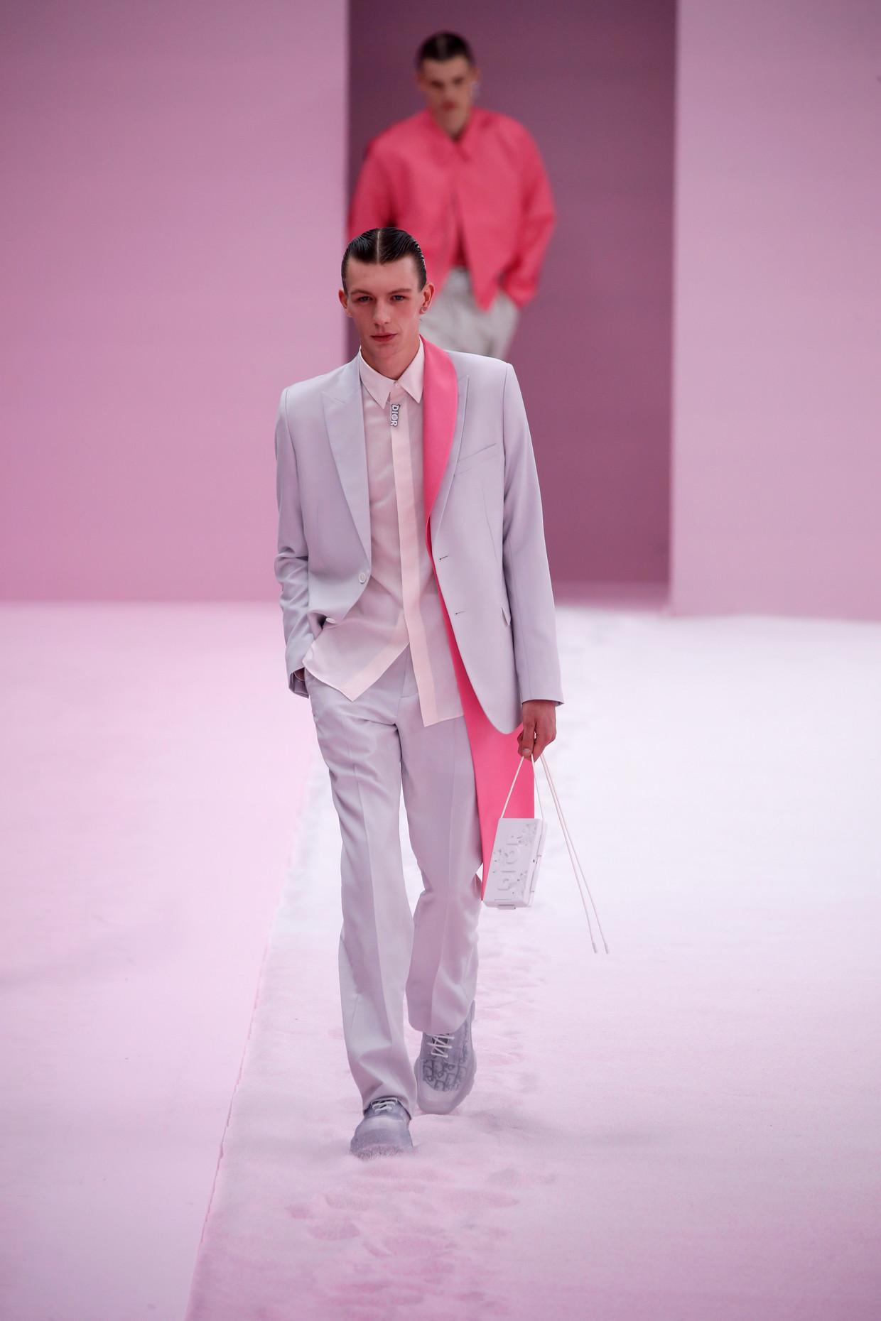 Dior Homme. Beeld REUTERS / Charles Platiau