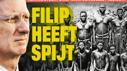 """""""Een groot gebaar van onze vorst ten opzichte van het Congolese volk!"""""""