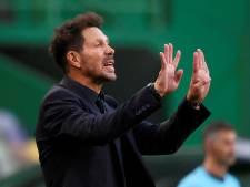 Atlético-coach Diego Simeone test positief op corona