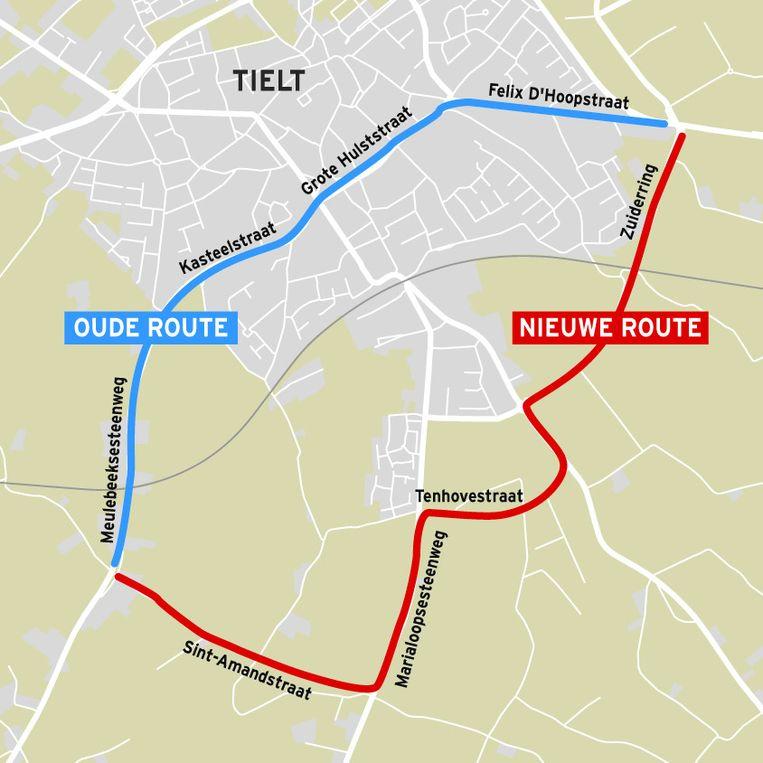 Dit plan van het vorige stadsbestuur, een verbreding van de Sint-Amandstraat als alternatief voor de ongrijpbare ring, is nu definitief van de baan.