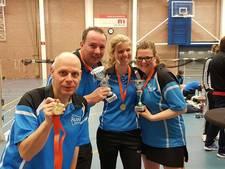 Team van BC Flits Wierden regiokampioen