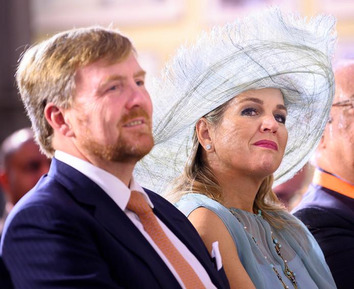 Koning Willem-Alexander en koningin Maxima tijdens hun vijfdaagse staatsbezoek aan India.
