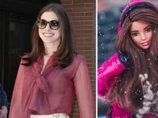 Kruipt Anne Hathaway in de huid van Barbie?