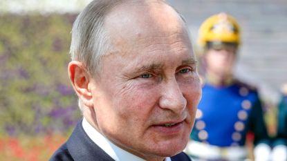 Bezoekers van Poetin moeten door 'desinfectietunnel'