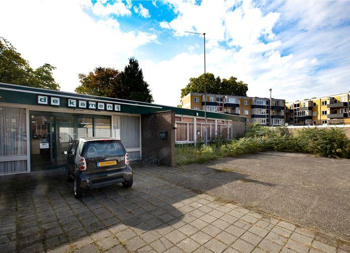 Wijkhuis De Kamenij aan de Jeroen Boschstraat in Helmond-Noord.