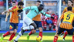 LIVE. Pas ingevallen Bastoni kopt Inter op voorsprong, maar Lecce stelt meteen erna gelijk