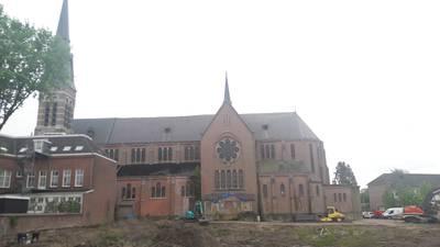 Weer een stapje in lijdensweg Heilig Hartkerk Breda: dak gerepareerd