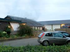 Brand in loods in Deurne