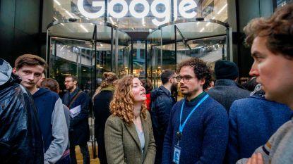 """Wereldwijd protest bij Google: """"In solidariteit met slachtoffers van ongewenste seksuele intimiteiten"""""""