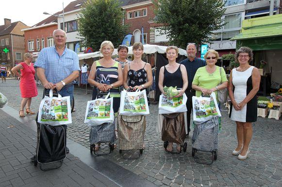 Een archiefbeeld van de 'Dag van de Markt', vorige zomer in Eeklo.