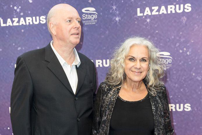 Cilly Dartell met haar man vorig jaar bij een première.