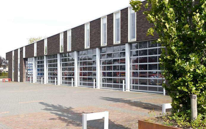 De brandweerkazerne in Ommen.