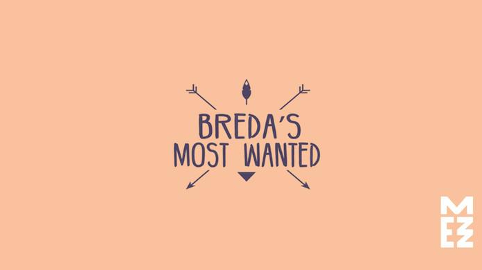 Logo Breda's Most Wanted, Bron: Facebook