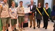 Scouts Hellegat gehuldigd voor 75-jarig bestaan