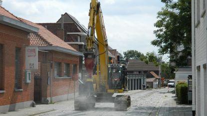Omrijden door werken Boomgaardstraat