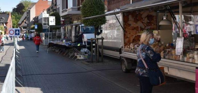 De marktdag in Maldegem.