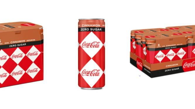 Coca-Cola lanceert nieuwe variant met kaneelsmaak