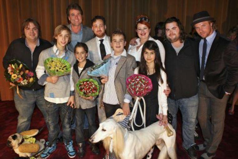 De cast van Dik Trom. © anp Beeld