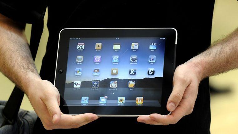 Een iPad. © afp Beeld