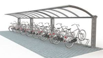 Tijdelijke fietsenstalling blijft