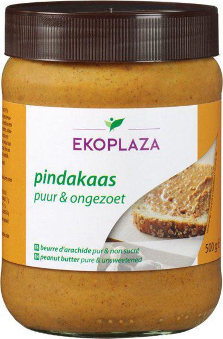 1: Ekoplaza Pindakaas puur en ongezoet; 500 g. euro;3,39 (euro 0,68/100 g.) Beeld