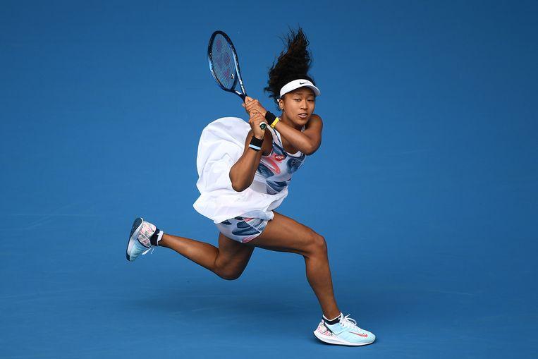 Tennisser Naomi Osaka was in 2019 de beste verdienende sportvrouw.  Beeld Getty Images
