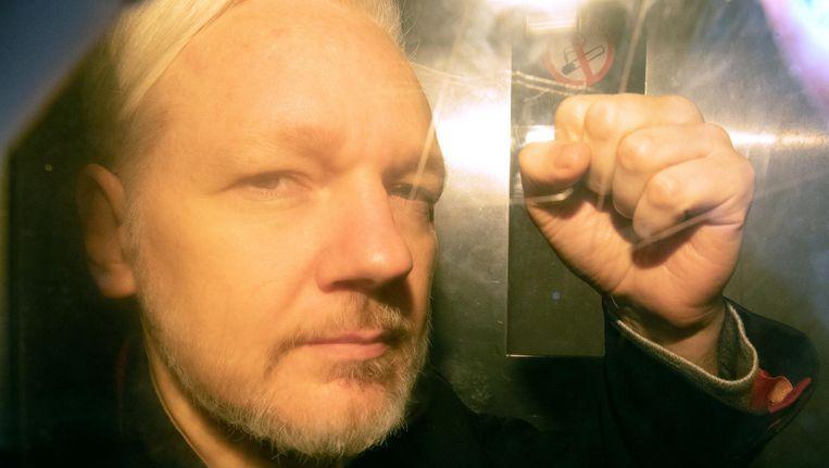 Julian Assange Beeld anp