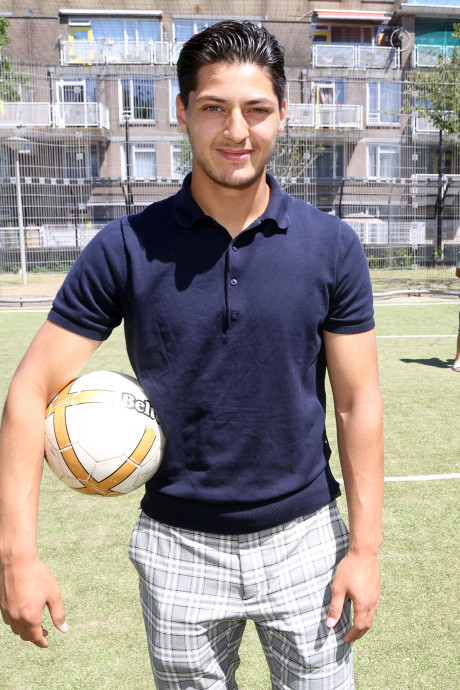 Abdullah Achahbar wil via FC Dordrecht zijn broer Anass achterna