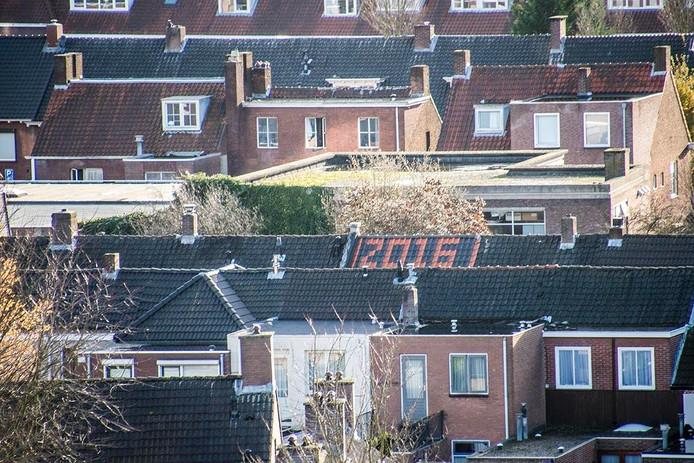 De stad van bovenaf. Foto Jan van Eijndhoven