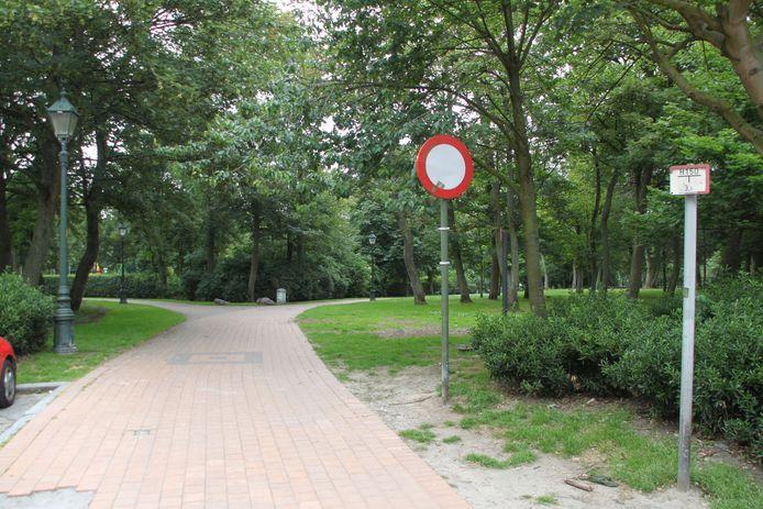 De feiten vonden plaats in het Leopoldpark.