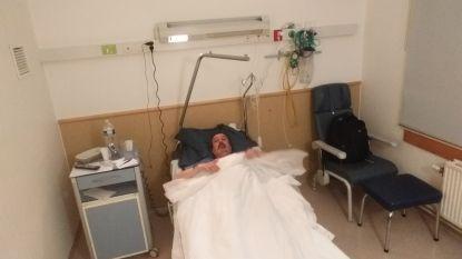 """Belg met coronavirus hoopt snel weer thuis te zijn: """"Het eten is hier geen vette, maar voor vanavond heb ik wel twee Leffes"""""""