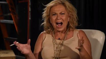 "VIDEO. Roseanne schreeuwt het uit:  ""Ik dacht dat die bitch blank was"""
