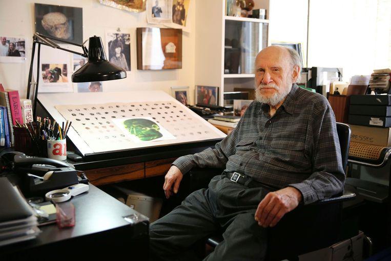 Art Paul in 2014 in zijn studio in Chicago.