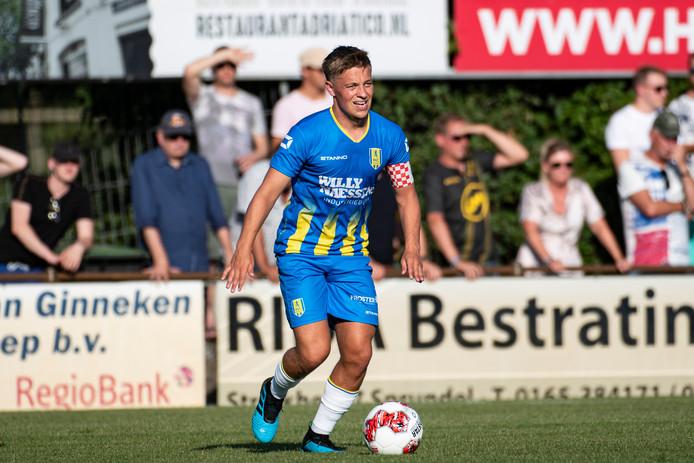 Daan Rienstra is de nieuwe aanvoerder van RKC Waalwijk