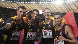 Goud! Belgian Tornados imponeren in 4x400m-finale en snellen naar Europese titel