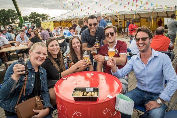Het West-Vlaams Bierfestival.