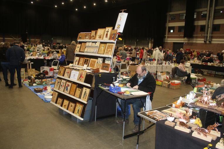 Ruim 1.800 bezoekers op twintigste editie grote brocanterie indoor