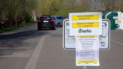 """Zo kan het dus ook: containerparken Verko openen op afspraak, zonder wachtrijen of chaos. """"Misschien na de crisis dit systeem handhaven"""""""