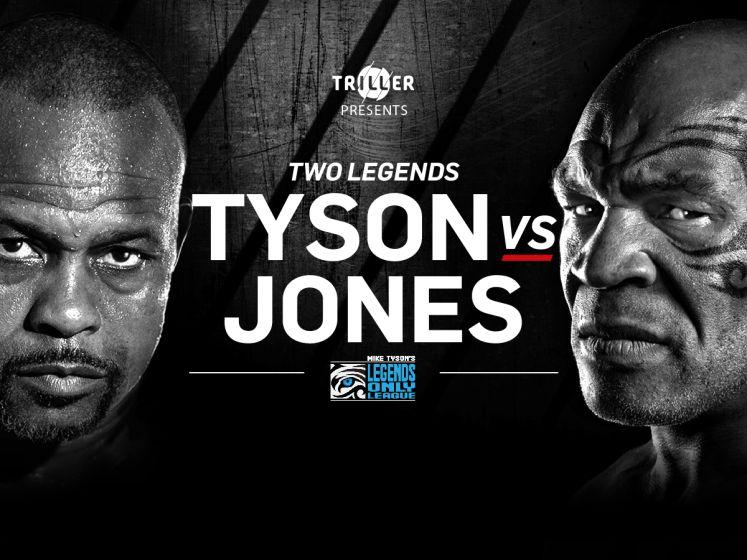Kijk nu exclusief naar de rentree van bokslegende Mike Tyson