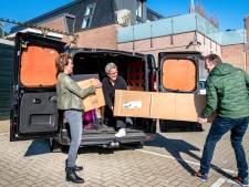 Ondernemers Kaatsheuvel starten met gratis bezorgservice