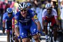 Viviani wint een etappe in de Tour.