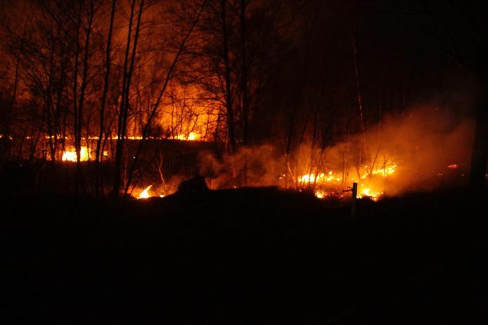 Opnieuw brand in Peel.