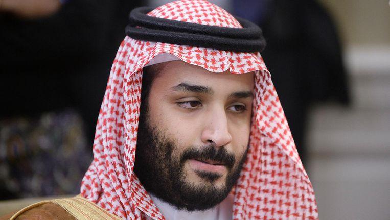 De Saoedische prins Mohammed bin Salman. Beeld epa