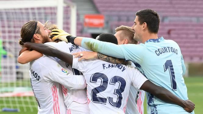 """Courtois steekt Zidane hart onder de riem: """"We maakten goals zoals de trainer ze had voorspeld"""""""