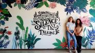 Leerlingen Atheneum fleuren lokalen op met muurschilderingen