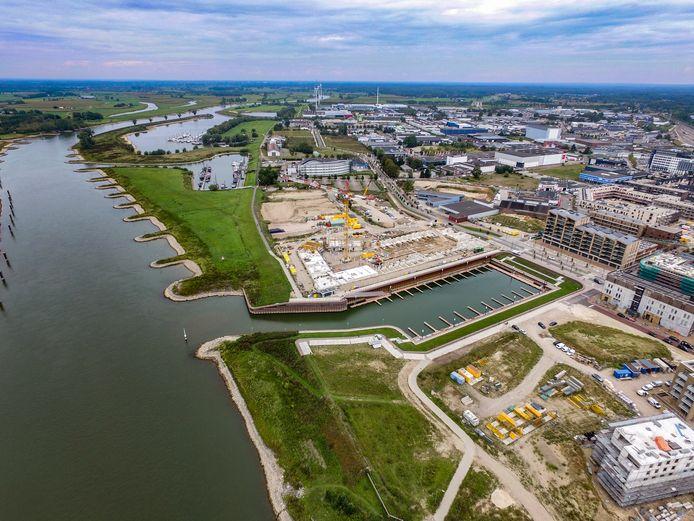 Nieuwbouwwijk Noorderhaven in Zutphen. De komende jaren worden hier nog vele woningen gebouwd, die ervoor moeten zorgen dat Zutphen de vraag naar woningen beter aankan.